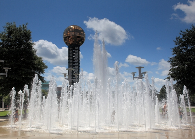 World Fair Park Knoxville TN